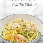 Thumbnail image for Quick Shrimp Scampi with Squash Noodles (Grain-Free, Paleo, Gluten Free)
