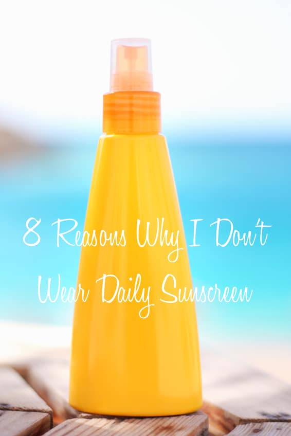 Almost every health or women's magazine recommends we wear daily sunscreen in an effort to protect us from cancer and skin damage. For years I followed their advice, but then I learned about the toxic chemicals in most sunscreens and our need for unprotected sunlight each day.