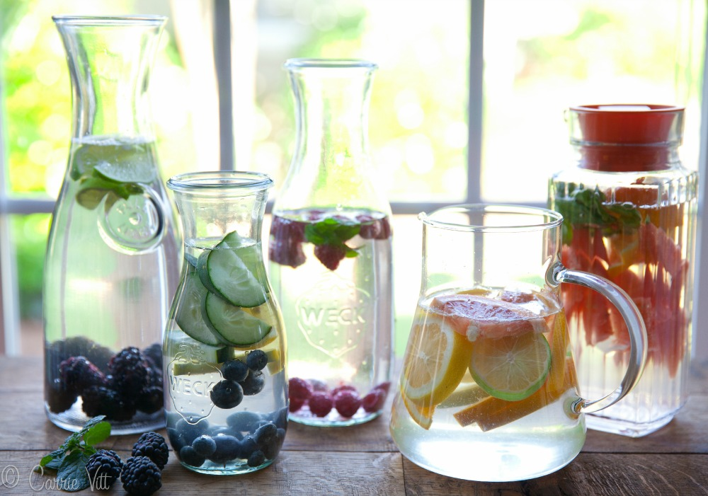 15 Flavored Water Recipes Deliciously Organic