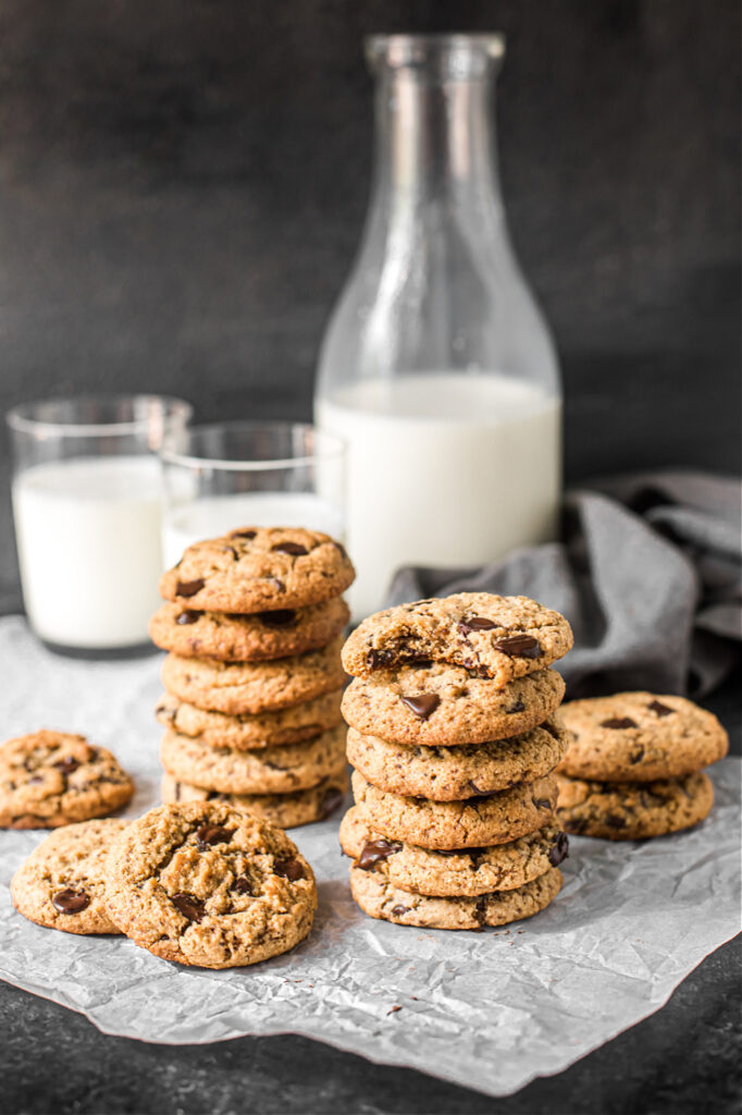 The Perfect Nut-Free, Dairy-Free, Egg-Free Chocolate Chip Cookies