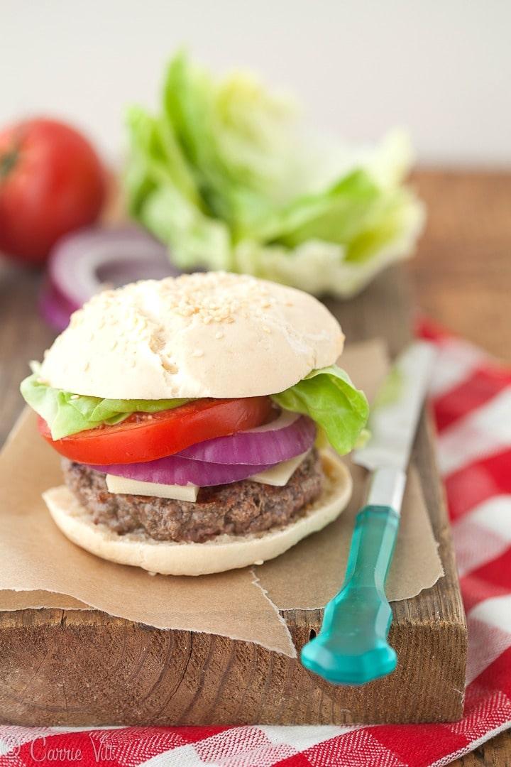 Grain-Free Hamburger Buns (Nut-Free)