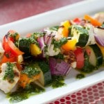 Tequila-Lime Chicken and Vegetable Kabobs (Grain-Free, Paleo)