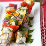 Thumbnail image for Tequila-Lime Chicken and Vegetable Kabobs (Grain-Free, Paleo)