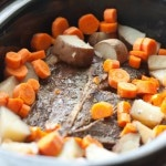 6 Ingredient Slow Cooker Pot Roast (Grain-Free, Paleo)