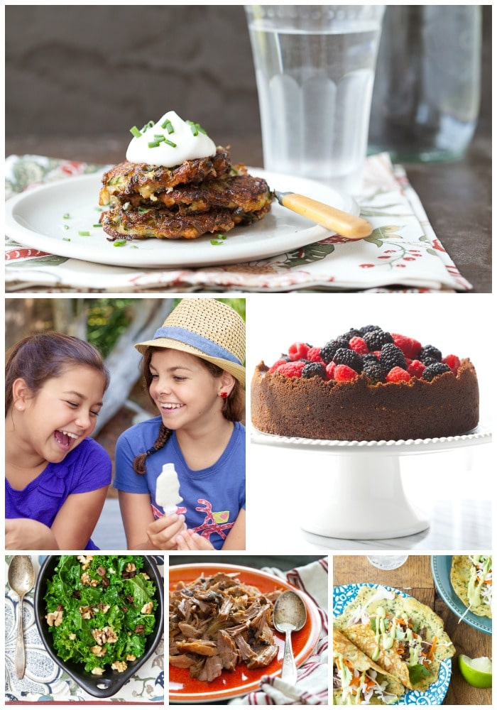 The Grain-Free Family Table Collage