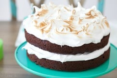 Chocolate Cake with Marshmallow II