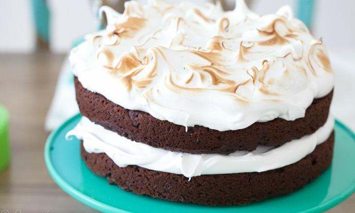 Chocolate Cake with Marshmallow II