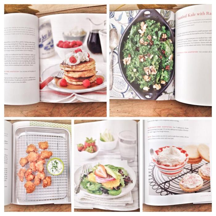 """Inside Pages of """"The Grain-Free Family Table"""""""