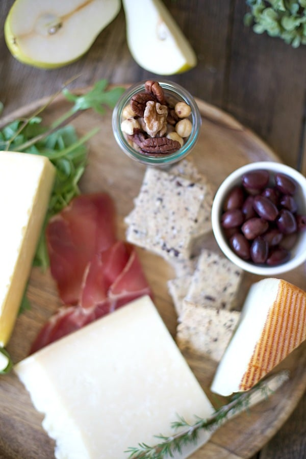 Fall Cheese Platter (Grain Free)