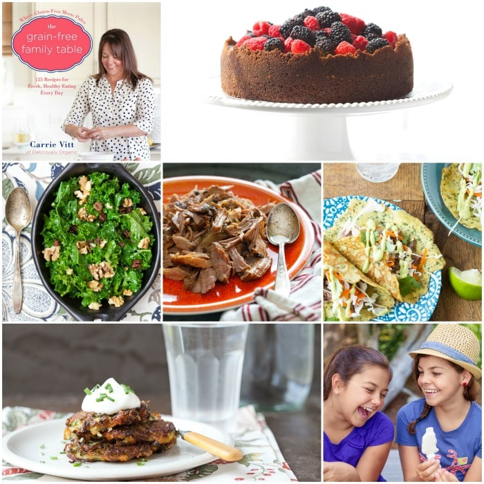 The Grain-Free Family Table Cookbook by Carrie Vitt #grainfree #paleo