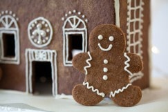 Grain Free Gingerbread man 4 Small
