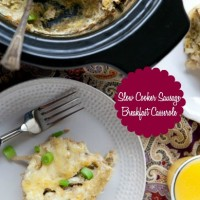 Slow Cooker Sausage Breakfast Casserole (Grain-Free)