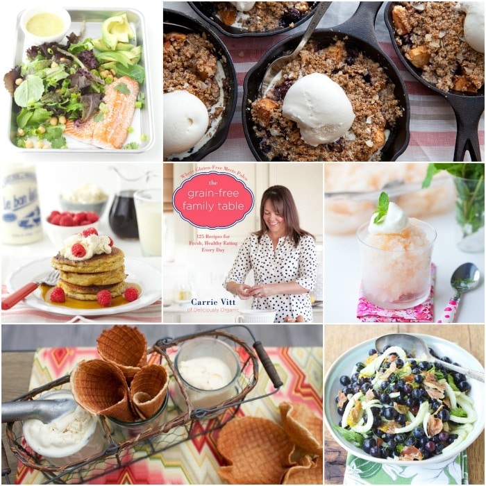 Grain Free Family Table Collage