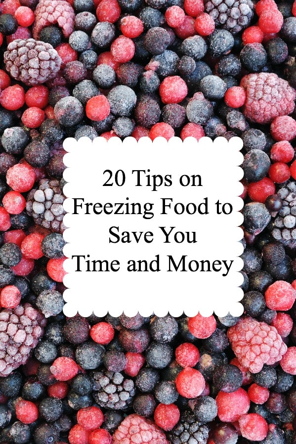 This is a great list of 20 things you can freeze to save you time and money! I think I need to go freeze #11 right now!