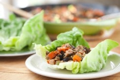 Chicken and Lettuce Cups H