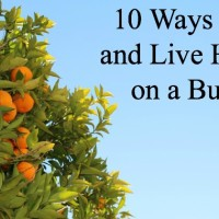 10 Ways to Eat and Live Healthy on a Budget