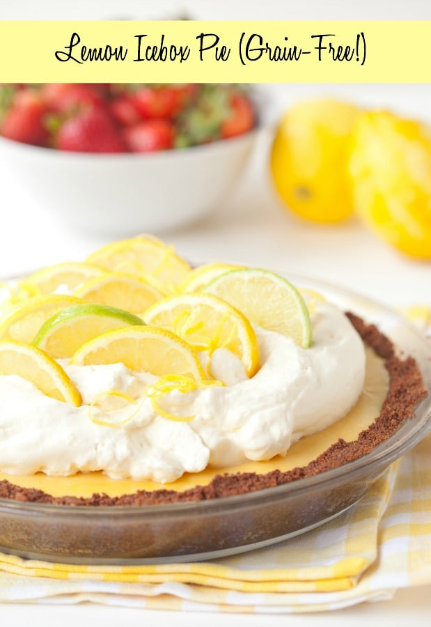 Lemon Icebox Pie really packs in the flavor for a simple southern staple. The filling has just four ingredients and bursts with the freshness of lemons while sitting atop a delicious graham cracker crust.