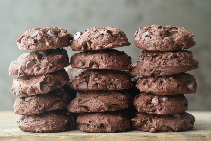 These Mexican hot chocolate cookies are rich and chocolaty with a hint of heat.