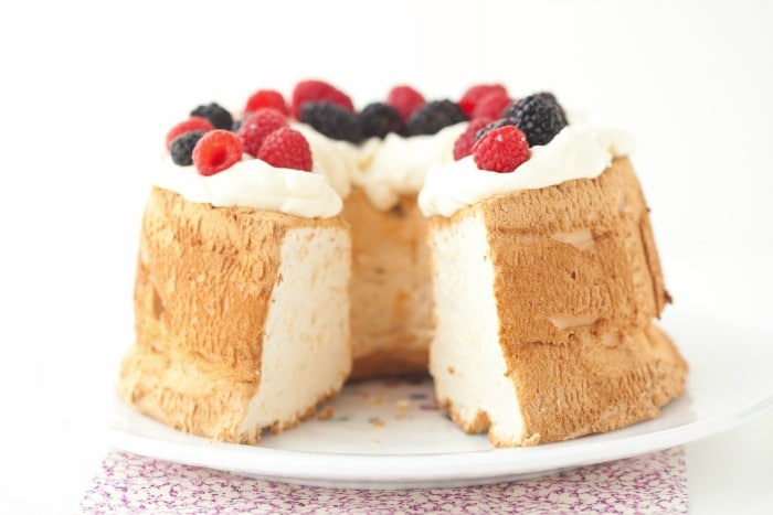 Angel food cake grain free paleo deliciously organic angel food cake is worth the time investment and provides a fun activity for kids to forumfinder Image collections