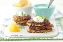 Squash Fritters Recipe Grain Free Paleo H