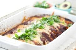 Beef Enchiladas Recipe | DeliciouslyOrganic.net #grainfree #paleo