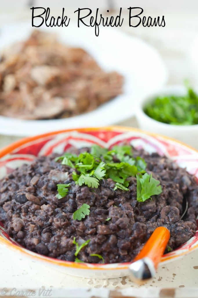 Black Refried Beans Deliciously Organic