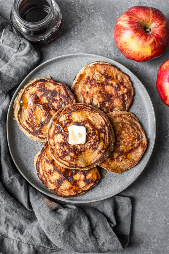 Apple Cider Pancakes (Grain-Free)