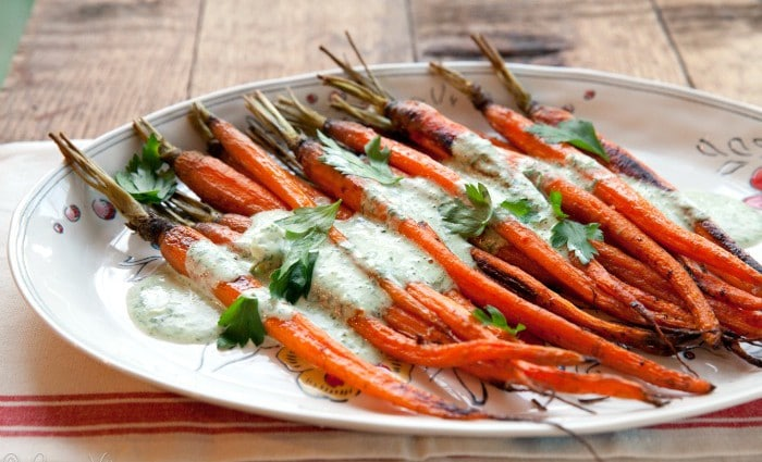 Roasted Carrots H