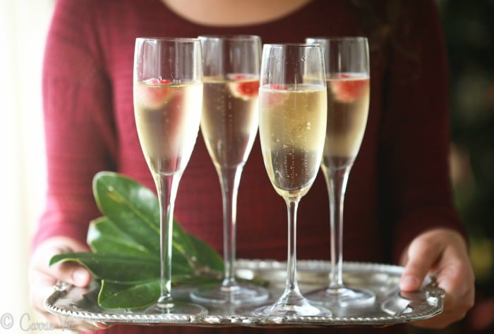A festive drink offers an enjoyable addition to any holiday menu. Elderflower liquor and Champagne combine easily to make a delightful Elderflower Cocktail.