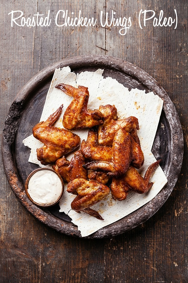 Roasted Chicken Wings are a great substitute for the conventional variety and taste so much better! Perfect for your next party or just for an easy dinner with a side salad!