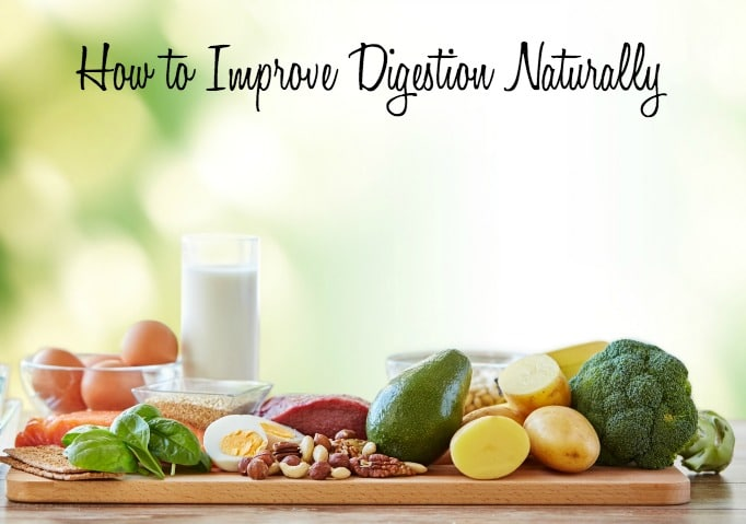 How to Improve Digestion Naturally via DeliciouslyOrganic.net