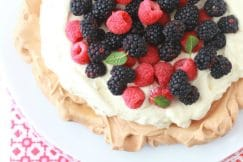 Pavlova Recipe via DeliciouslyOrganic.net