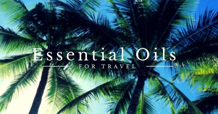 Essential Oils for Travel via DeliciouslyOrganic.net