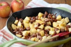 Apple, Bacon and Sausage Breakfast Skillet Recipe