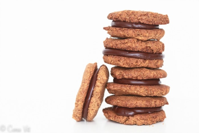 Flourless Almond Butter and Chocolate Sandwich Cookies ...