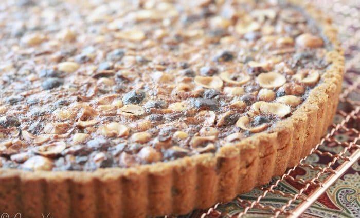 Hazelnut Tart (Grain-Free)