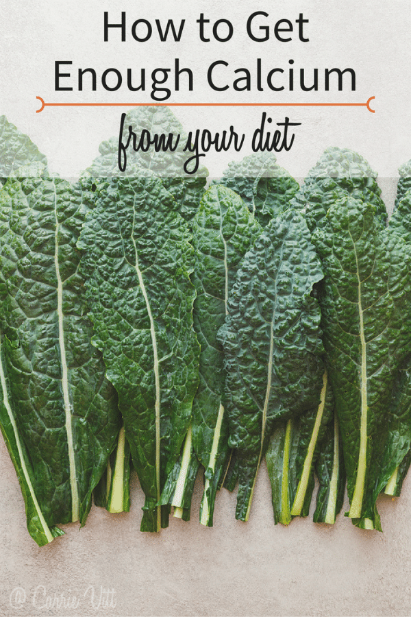 We're constantly bombarded with the suggestion to 'get more calcium.' So, how do you get enough calcium from your diet? I think the answer will surprise you!