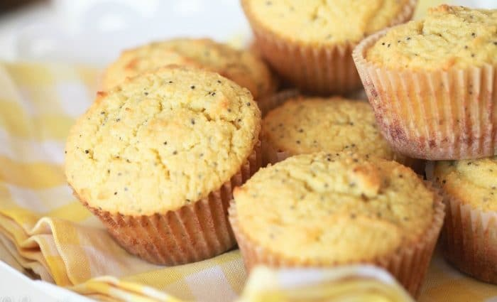 Lemon Poppy Seed Muffins (Grain-Free)