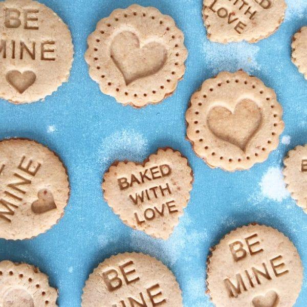 Grain-Free Valentine's Sugar Cookies