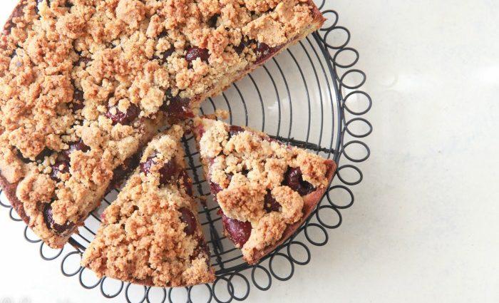 Cherry Crumb Cake (Grain-Free)
