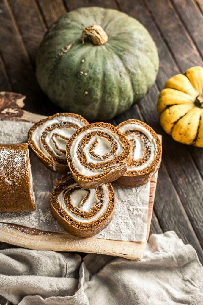 Pumpkin Roll Cake Recipe (Grain-Free)