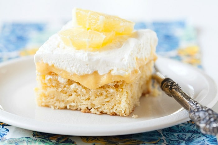 Layered Lemon Sheet Cake