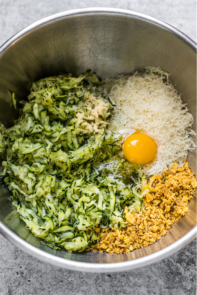 Zucchini Bites (Grain-Free, Gluten-Free)