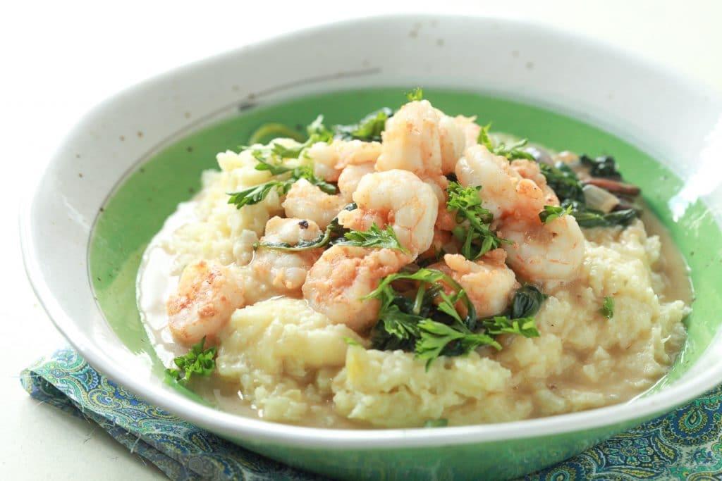 Shrimp and Grits Recipe (Paleo, Grain-Free)