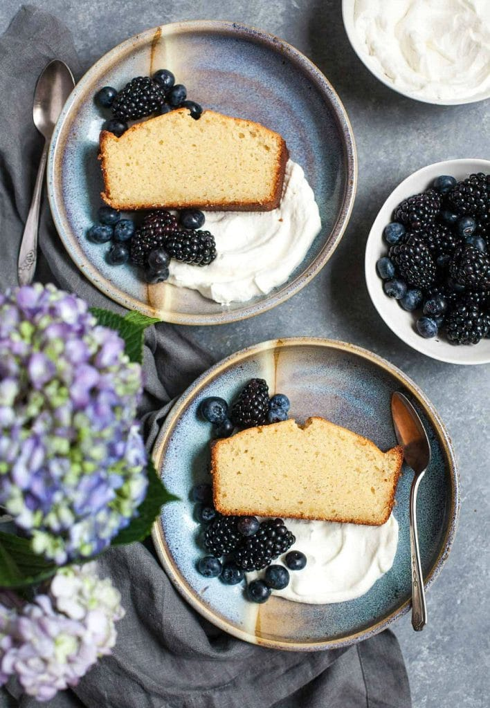 Pound Cake Recipe (Gluten-Free, Grain-Free)