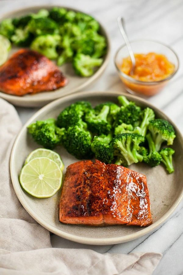 Orange Glazed Salmon Recipe (Grain-Free, Paleo)