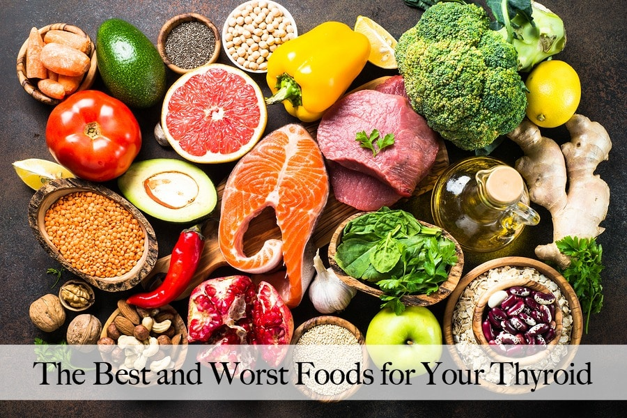 Best Diet for Hypothyroidism, Hashimoto, Hyperthyroidism, or Graves (Foods to Eat and Foods to Avoid)