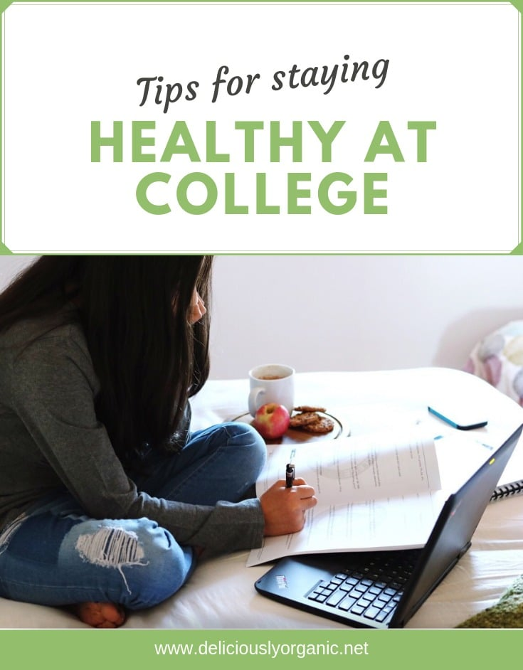 Tips for Staying Healthy at College