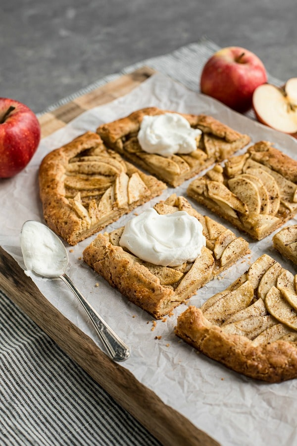 Salted Butter Apple Galette Recipe (Grain-Free)