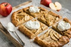 Salted Butter Apple Galette Grain-Free